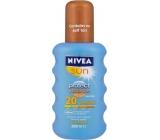 Nivea Sun Protect & Bronze intenzivní sprej na opalování SPF 20 Medium 200 ml