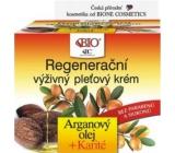 Bione Cosmetics Bio Arganový olej & Karité regenerační výživný pleťový krém 51 ml