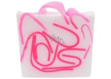 Bomb Cosmetics Ruženka - Tickled Pink Prírodné glycerínové mydlo 100 g