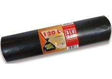 Alufix Vrecia na odpad pevné čierne 120 litrov, 70 x 100 cm, 10 kusov