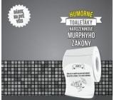 Albi Vtipný toaleťák Narozeninové Murphyho zákony, 20 metrů šustivého luxusu, Dárkový toaletní papír