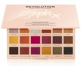 Makeup Revolution X Soph Extra Spice paletka očných tieňov 18 x 0,8 g