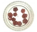 Professional Ozdoby na nechty kvetina (10) ruže 132