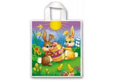Press Igelitová taška 45 x 50 cm s uchom Veľkonočné Zajačikovia 1 kus