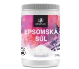 Allnature Epsomská soľ Horčík, síran a Levanduľa do kúpeľa uvoľňuje svaly, odbúrava stres, detoxikuje organizmus 1000 g