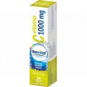 Revital Vitamín C Limetka a grep doplnok stravy pre normálnu funkciu imunitného systému 1000 mg 20 šumivých tabliet