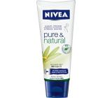 Nivea Pure & Natural Výživný krém na ruce 100ml