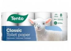 Tento Classic toaletný papier 3 vrstvový 150 útržkov 8 kusov