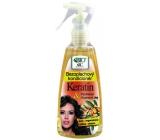 Bione Cosmetics Keratin & Arganový olej bezoplachový kondicionér 260 ml