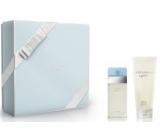 Dolce & Gabbana Light Blue toaletní voda 50 ml + tělový krém 100 ml, dárková sada