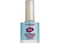 Deborah DH 5in1 Total Care Action Nail Enamel péče na nehty 11 ml