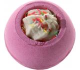 Bomb Cosmetics Čerstvé ovoce - Fresh Berry Šumivý balistik do koupele 160 g