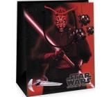 Ditipo Dárková papírová taška dpro děti M Star Wars červeno-černá 23 x 9,8 x 17,5 cm 2929 007
