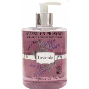 Jeanne en Provence Lavande Levanduľa tekuté mydlo na ruky 500 ml
