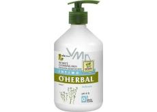 O Herbal Delicate Len čistící mléko pro intimní hygienu 500 ml