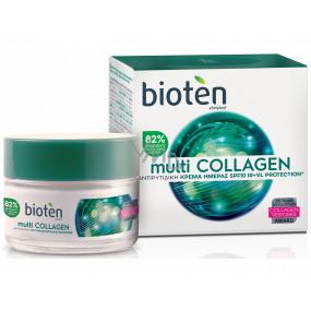 Bioten Multi Collagen SPF 10 denný krém proti vráskam 50 ml