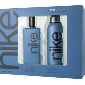 Nike Blue Premium Edition toaletná voda pre mužov 100 ml + deodorant sprej 200 ml, darčeková sada