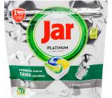 Jar Platinum All in One Lemon kapsule do umývačky riadu 17 kusov