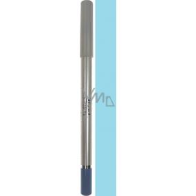 Moda Eyeliner tužka na oči E02 světle modrá 2 g