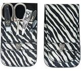 Kellermann 3 Swords Luxusná manikúra 6 dielna Fashion Materials v aktuálnom módnom materíálu Zebra 56212 PN