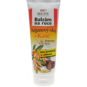 Bion Cosmetics Arganový olej & Karité & Koenzým Q10 balzam ruky 205 ml