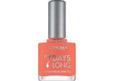 Deborah Milano 7 Days Long Nail Enamel lak na nehty 871 Apricot Range 11 ml