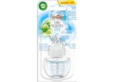 Air Wick Life Scents Linen in the Air - Prádlo ve vánku elektrický osvěžovač náhradní náplň 19 ml
