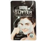 Beauty Formulas Strieborná & trblietavá zlupovaciu pleťová maska 10 g