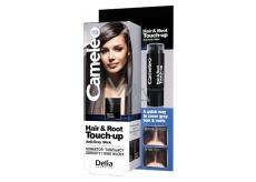 Delia Cosmetics Cameley Hair & Root Korektor zakrýva korene a sivé vlasy Black 4,6g