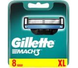 Gillette Mach 3 náhradné hlavice 8 kusov