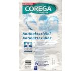 Corega Tabs Antibakteriálne 3min čistiace tablety na zubné náhrady 6 kusov