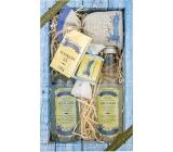 Bohemia Gifts & Cosmetics Dead Sea Mrtvé moře s extraktem mořských řas a solí sprchový gel 200 ml + šampon na vlasy 200 ml + koupelová sůl 150 g + toaletní mýdlo 30 g, kosmetická sada