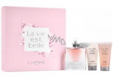 Lancome La Vie Est Belle toaletná voda pre ženy 50 ml + telové mlieko 50 ml + sprchový gél 50 ml, darčeková sada