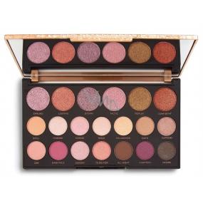 Makeup Revolution Jewel Collection paletka očných tieňov Deluxe 16,9 g
