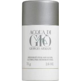 Giorgio Armani Acqua di Gio pour Homme deodorant stick pre mužov 75 ml