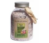 Bohemia Gifts & Cosmetics Ibišek s bylinkami relaxační koupelová sůl 1,2 kg
