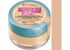 Rimmel London Fresher Skin Foundation make-up 103 True Ivory 25 ml