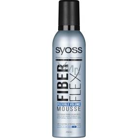 Syoss Fiberflex Volume extra silná fixácia penové tužidlo 250 ml