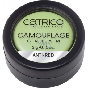 Catrice Camouflage Cream Anti-Red krycí krém 3 g