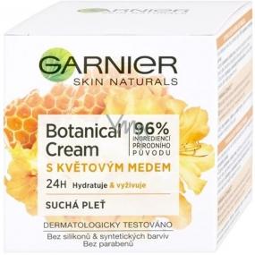Garnier Skin Naturals Botanical Cream s květovým medem pleťový krém pro suchou pleť 50 ml