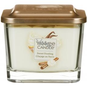 Yankee Candle Sweet Frosting - Sladká poleva sójová vonná sviečka Elevation strednej sklo 3 knôty 347 g