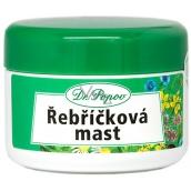 Dr. Popov Rebríčková masť na popraskanú kožu, uštipnutie hmyzom, zapareniny, hemoroidy, akne 50 ml