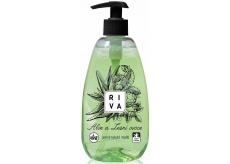 Riva Aloe a Lesní ovoce jemné tekuté mýdlo dávkovač 500 g