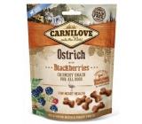 Carnilove Dog Pštros s černicami lahodný chrumkavý maškrta pre všetkých psov pre zdravé srdce 20 g