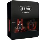 Str8 Red Code toaletná voda pre mužov 50 ml + dezodorant sprej 150 ml, darčeková sada