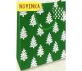 Nekupto Darčeková papierová taška malá 14 x 11 x 6,5 cm Vianočná 1800 50 WBS