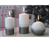 Lima Aróma línia sviečka svetlo hnedá valec 50 x 100 mm 1 kus