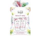 Fenjal Miss Floral Fantasy sprchový gel 75 ml + telové mlieko 75 ml + kozmetická taštička, kozmetická sada