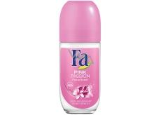 Fa Pink Passion Floral Scent guličkový dezodorant roll-on pre ženy 50 ml