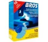 Bros Elektrický odparovač + pevná náplň 10 kusov proti komárom 10 nocí
